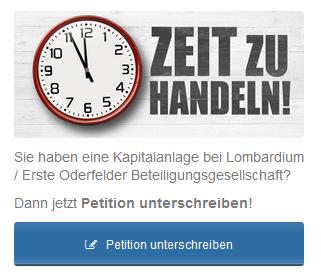 Petition Lombardium